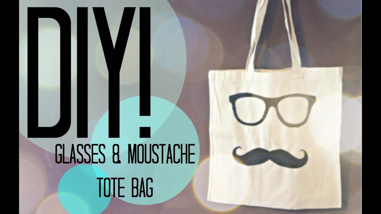 DIY| How To Personalise A Bag| Beach bag| Tote - YouTube