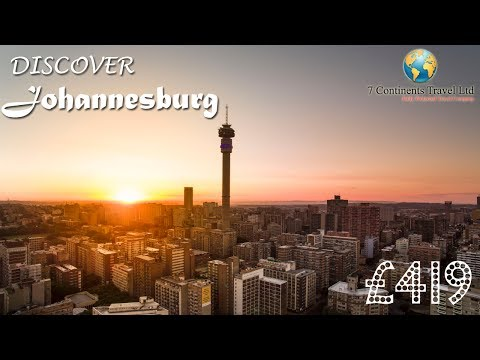 Johannesburg Attractions | Explore Africa | South Africa | 7 Continents Travel UK