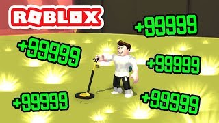 Game Hunter Team on Treasure Hunt! Metal Detecting Simulator / Roblox Simulation