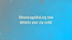 New zip code detection on IllinoisLegalAid.org!