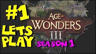 Age of Wonders 3 - Part 1 - THE BEGINNING - AoW3 Multiplayer Gameplay (Season 1)