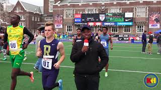 #PennRelays #MeetTheBroadcaster Jhon-Marc Prince