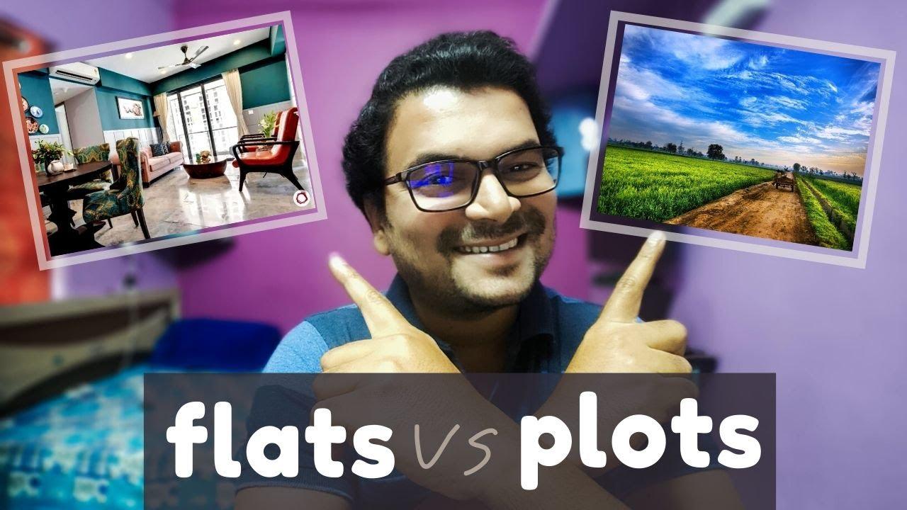 Which is best option ? Flats v/s Plots ! नक्की काय घ्यायचं ?
