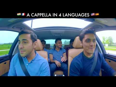 Enjoy the A Cappella Carpool Cover in 4 languages/English.hindi.portugal.spanish/2017/18