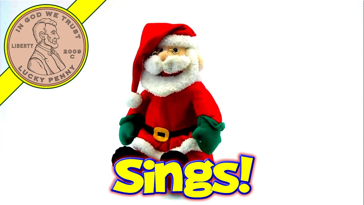 adfff2335d8df Sound Activated Singing Santa Claus Merry Christmas Musical Toy Kids Toy  Reviews