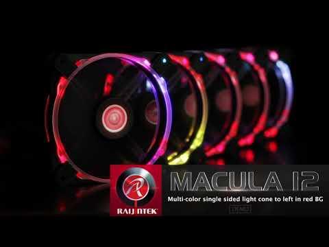 Raijintek Macula 12 Rainbow RGB set of 2