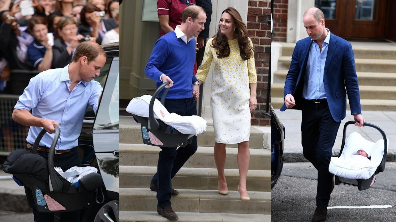 Prince William and Kate Middleton Have Used Same Car Seat for All 3