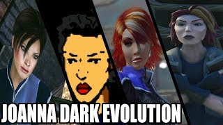 Evolution of Joanna Dark from Perfect Dark (2000 - 2018)