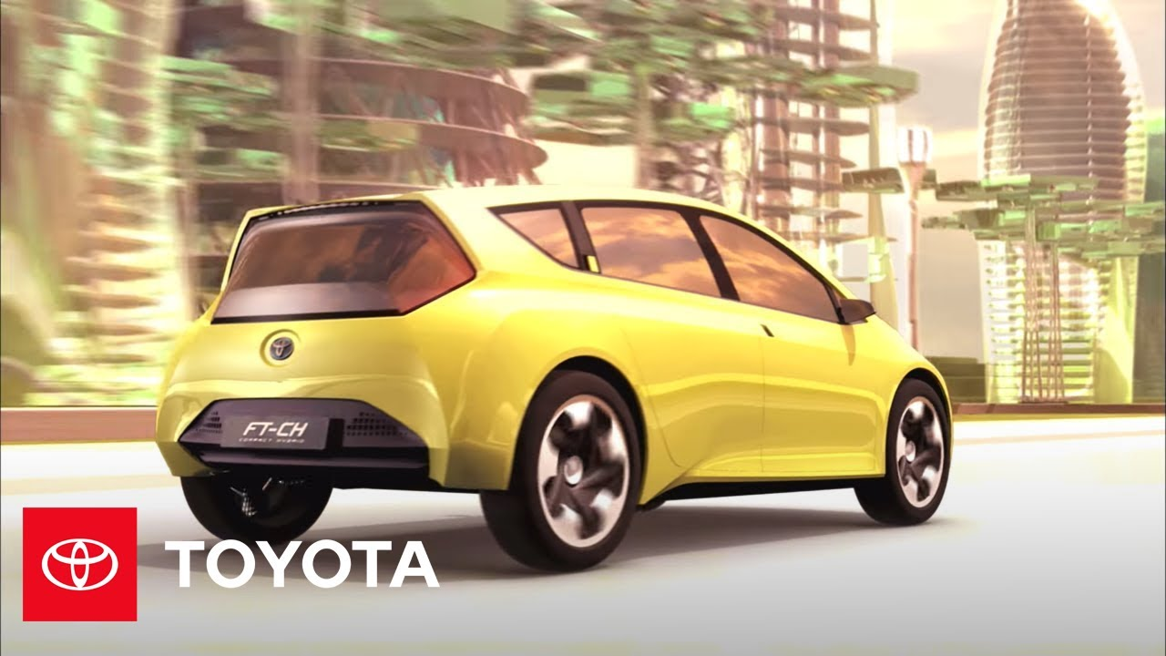 Toyota FT-CH Compact Hybrid Concept Car | Toyota