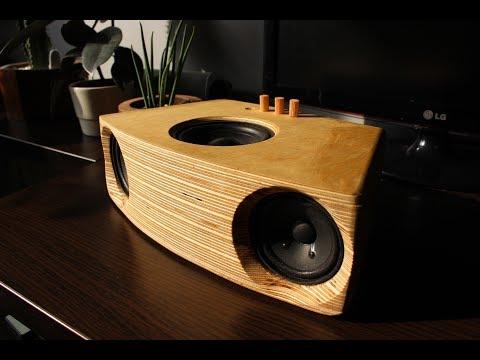 DIY 2.1 Bluetooth speaker Visaton F8SC + KT100V sub + TPA3116