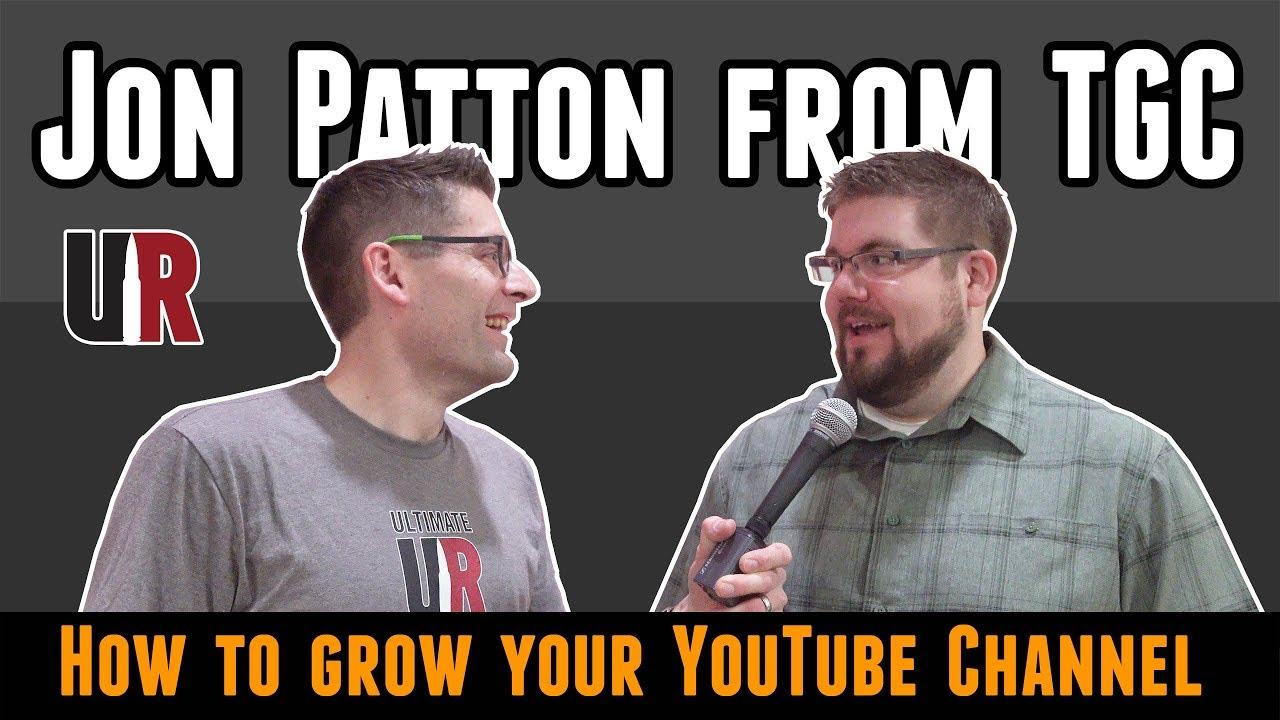 Jon Patton from TGC Discusses How to ...