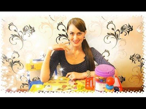 Развивающие игры для детей 1-3 года / Настольные Игры