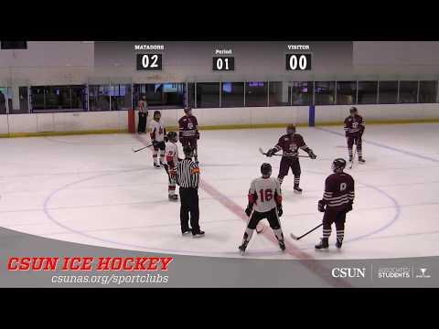 Ice Hockey: CSUN vs TEXAS A&M