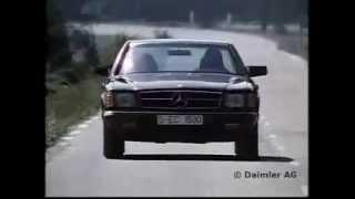 Mercedes-Benz 500SEC C126 Präsentation 1981 (W126) Coupé S-K…