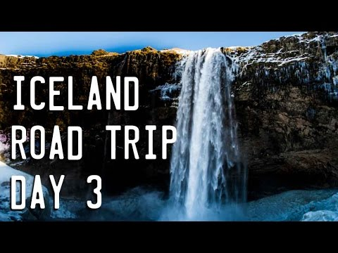 CRAZY SECRET WATERFALL - Iceland Vlogs Day 3