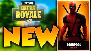 NEW DEADPOOL SKIN in FORTNITE! New Fortnite Skins Update Concept! Fornite New Skins!