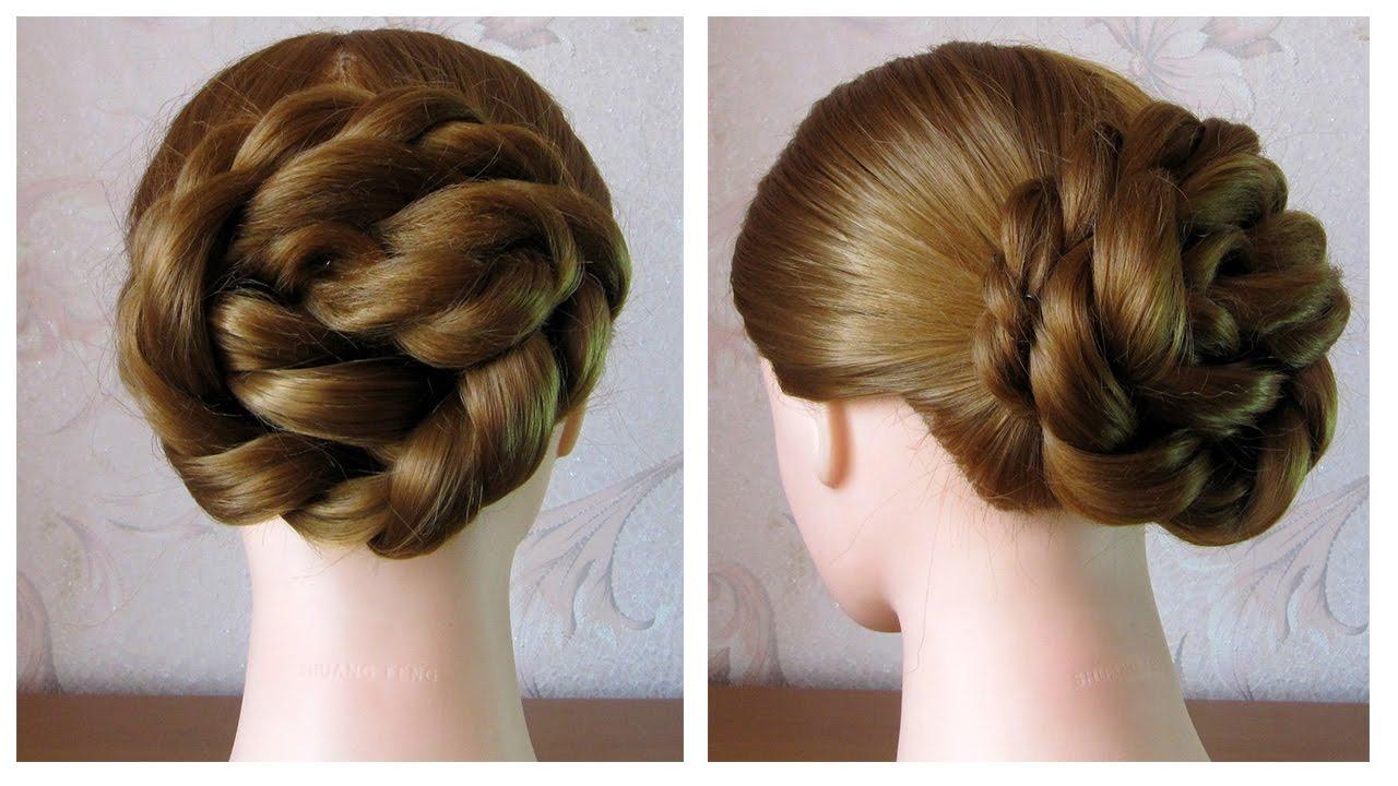 🌺 Сhignon facile à faire soi même cheveux mi long/long 🌺 Coiffure simple  et rapide