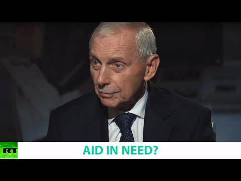 AID IN NEED? Ft. William Lacy Swing, Director General of the International Organization of Migration