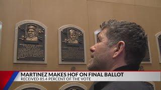 Martinez reaches Cooperstown on final ballot