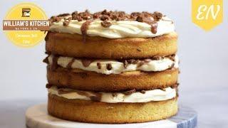 Cinnamon Roll Cake Recipe || William's Kitchen