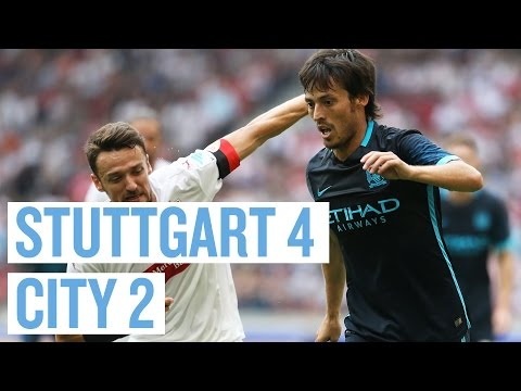 LIVE! VfB Stuttgart v Manchester City FC supported by visita
