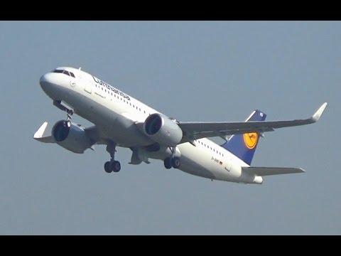 Lufthansa A320NEO Düsseldorf Airport    D-AIND