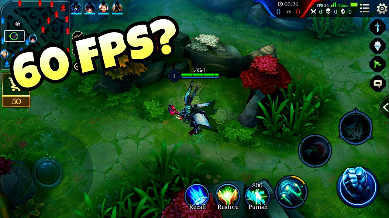 How To Enable High Frame Rate Mode For Unsupported Devices Garena Aov Android Aovomg