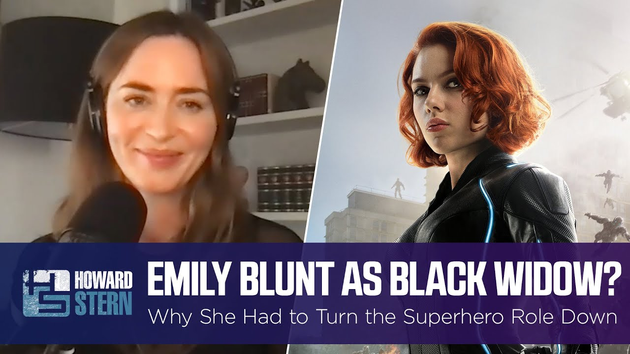Why Did Emily Blunt Have to Turn Down the Role of Black Widow?