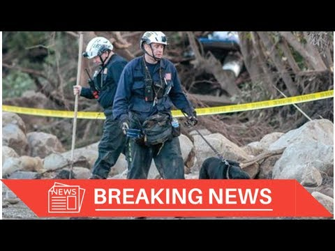 [Breaking News] 'Window closing' for California mudslide searchers as death toll rises
