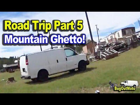 BUG OUT VAN Colorado Trip Part 5 - Mountain Ghetto - Victor Colorado
