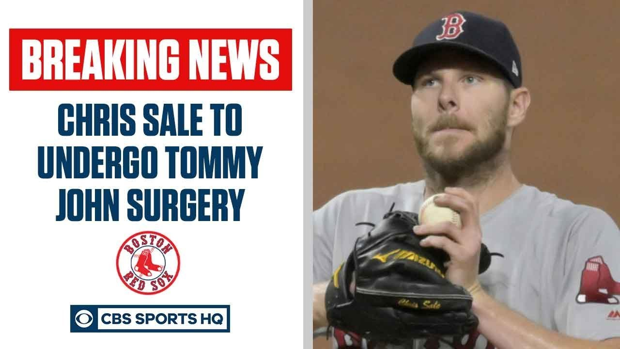 Red Sox pitcher Chris Sale OUT for 2020 Season, set for Tommy John Surgery | CBS Sports HQ