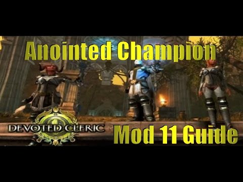 Neverwinter - Cleric - Anointed Champion PvE Build (Buff/Debuff) - Mod 10.5