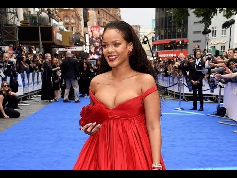 VALERIAN LONDON FILM PREMIERE  Cara Delevingne and Rihanna red carpet interviews