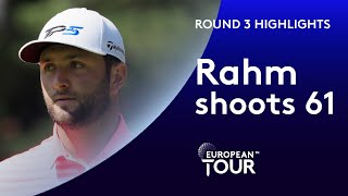 Jon Rahm's lowest career round including a hole in one!