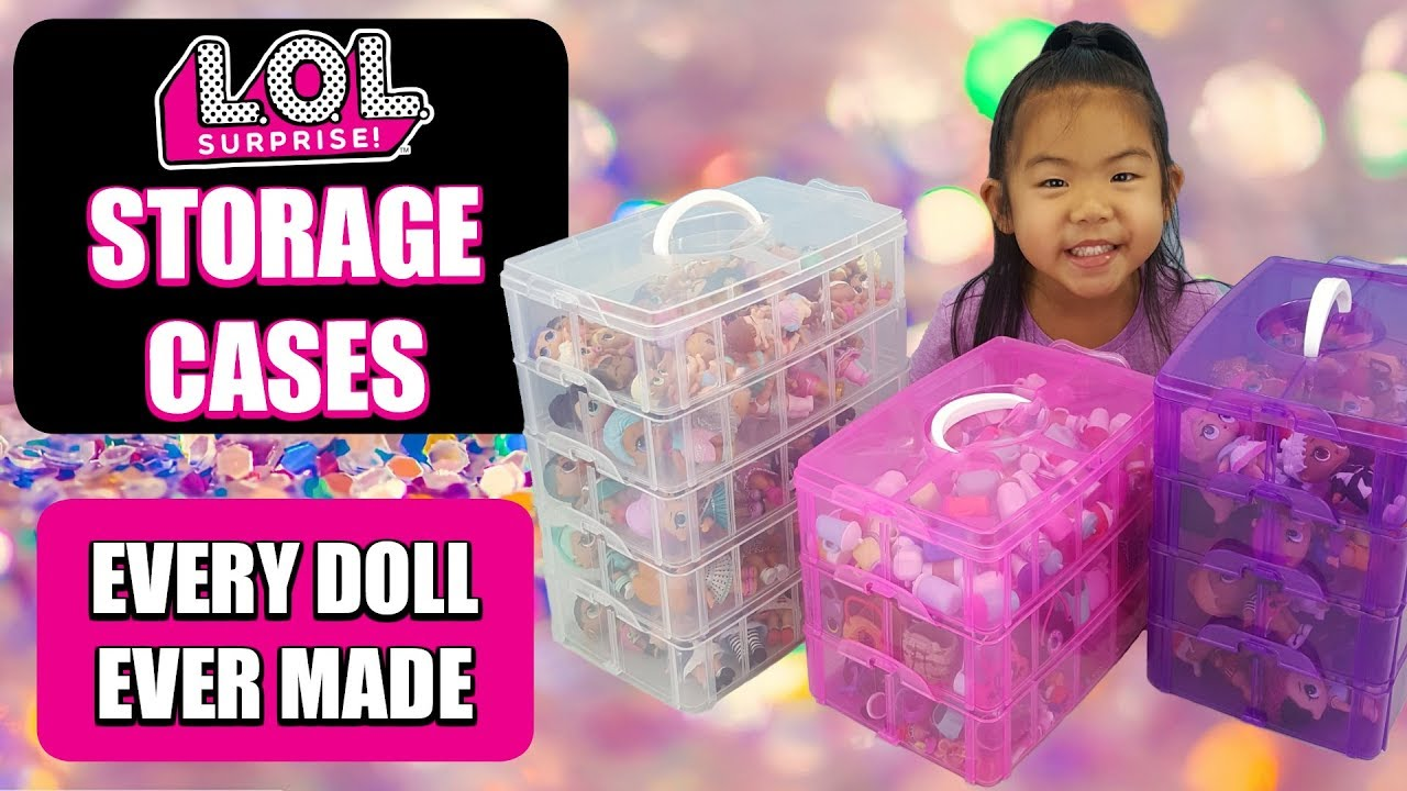 Charmant LOL Surprise Storage Case | How I Store My Complete LOL Doll Collection |  #CollectLOL