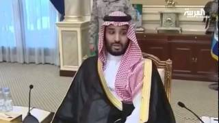 محمد بن سلمان يتحدث لرجال القوات المسلحة