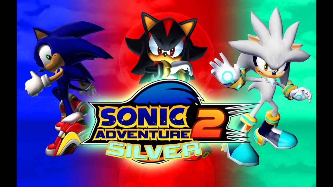 Silver The Hedgehog Sonic Adventure 2 Skin Mods
