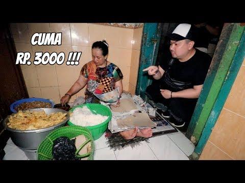 HARGANYA CUMA Rp. 3000, TAPI NASINYA DI BANTING!!!