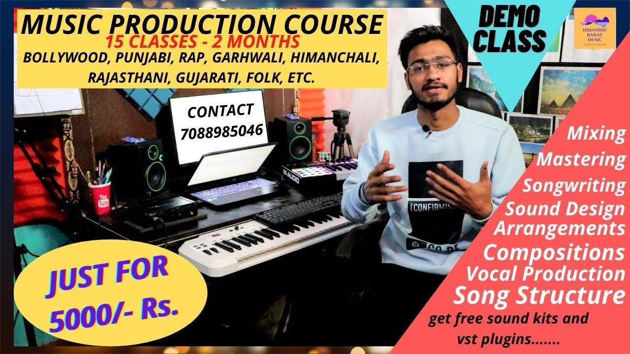 Music Production Online Course Theories Video Tutorials And Live Classes All Genres And Types Youtube
