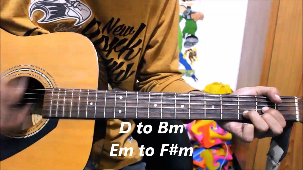Aahatein Splitsvilla Theme Song Romantic Guitar Cover Lesson