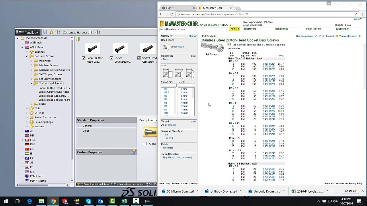 SOLIDWORKS 2017 Tech Tip - Toolbox Part Configuration - November 2016
