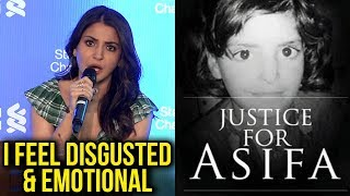 Anushka Sharma UPSET And DISGUSTED, Reacts On Asifa Bano Case