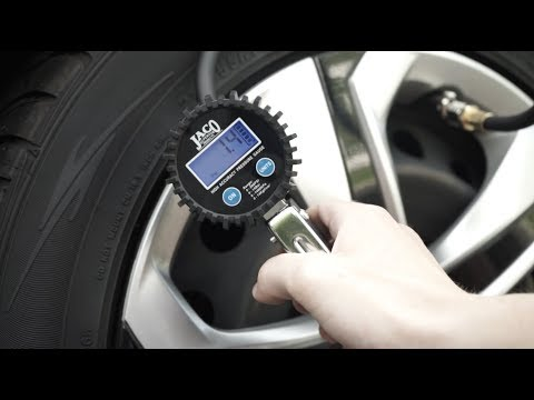Best Digital Tire Inflator with Pressure Gauge - JACO FlowPro™