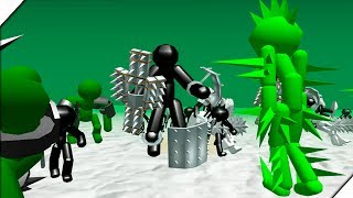 ЗОМБИ ПРОТИВ СТИКМЕНОВ - Игра Stickman Simulator : Zombie Battle.Андроид игры про зомби и стекменов
