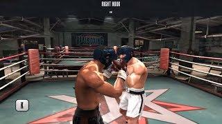 UFC Undisputed 3 Gameplay: Brock Lesnar Vs. Bob Sapp | the real boxing game