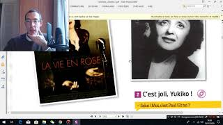 Online french lesson- when you meet french people