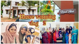 House warming vlog 2||New House function vlog||shadiya's tips n vlogs||House warming function vlog