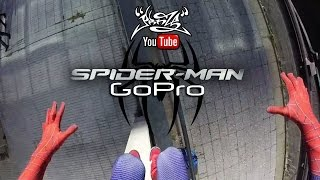 Repeat youtube video Spiderman GoPro HERO (Parkour)