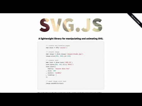 SVGs   Dropdowns   HTML5 Form Elements   The Treehouse Show Episode 32
