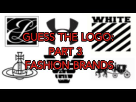 Guess the Logo Quiz Part 3: Fashion Brands